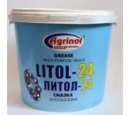 Смазка Агринол Литол  10кг.