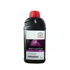 Тормозная жидкость TOYOTA DOT 4 Brake Fluid 0,5л.