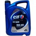 Моторное масло Elf Evolution 900 SXR 5w-40 4л.