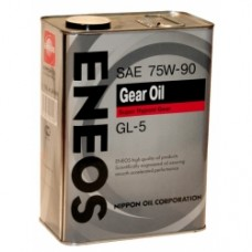 Трансмиссионное масло ENEOS Gear GL-5 SAE 75W-90 (4Л).