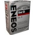 Масло ENEOS GEAR GL-5 80w-90 1Л.
