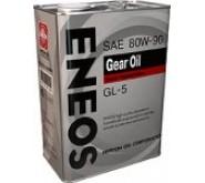 Масло ENEOS GEAR GL-5 80W-90 2Л.