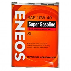 ENEOS SUPER GASOLINE  SL 10W-40 Semi-synthetic 4Л