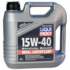 Liqui Moly МoS2 Leichtlauf 15W-40, 4л.