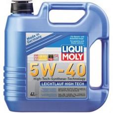 Моторное масло Liqui Moly Leichtlauf High Tech 5W-40 (4Л).