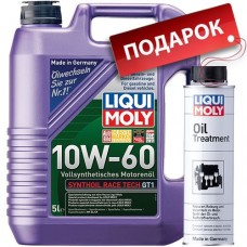 Liqui Moly Synthoil Race Tech GT1 10W-60, 5л.