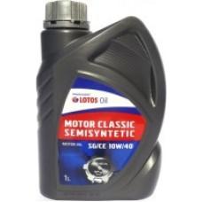 Моторное масло LOTOS MOTOR CLASSIC SEMISYNT 10W40 1Л.