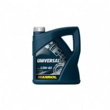 Моторное масло Mannol (Манол) Universal 15w40 5л.