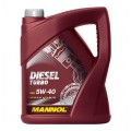 Mannol Diesel Turbo 5w40 5л.