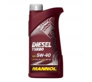 Моторное масло Mannol (Манол) Diesel Turbo 5w40 1л.