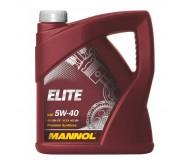 Моторное масло Mannol (Манол) Elite 5w40 4л.