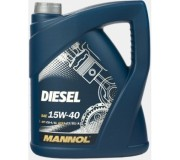 Манол 15-40 дизель 5 литров.