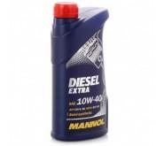 Моторное масло Mannol (Манол) Diesel Extra 10w-40 1л.