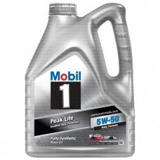 Mobil 1 Peak Life 5W-50 4л.