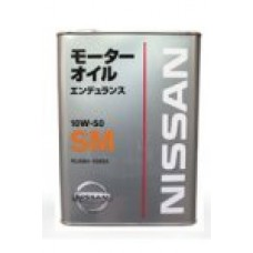 NISSAN SM ENDURANCE 10W50, 4 л.