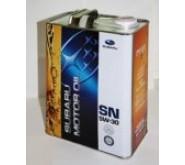 SUBARU MOTOR OIL SN 5W30, 4 литра