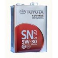 TOYOTA MOTOR OIL SN/GF-5 5W-30 4 литра