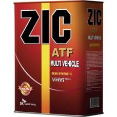Трансмиссионная  жидкость ZIC ATF Multi Vehicle 4л. для АКПП.