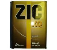Моторное масло ZIC XQ 5w-40 4л.