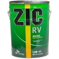 Моторное масло ZIC RV 10W-40 20л.