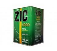 Моторное масло Zic 5000 10w-40 6л.