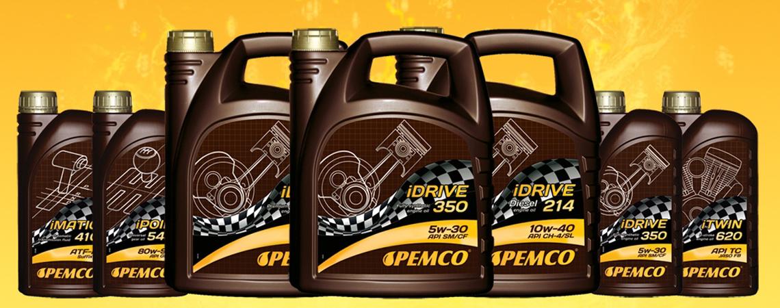 Моторные масла PEMCO на AUTOMASLA.COM.UA