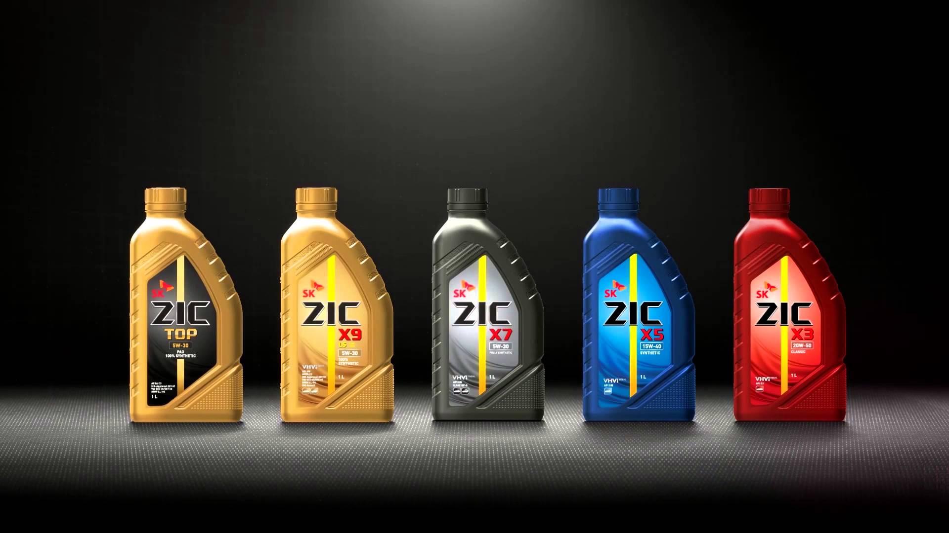 Моторные масла ZIC на AUTOMASLA.COM.UA